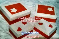 جعبه متالیک! جعبه های مقاوم با ورق فانتزی متالیک ترکیب قرمز-سفید و قرمز-مشکی بسیار شیک برای فروشگاههای محصولات فانتزی و کادوئی @farasazin 09191503062 fara-saze.ir