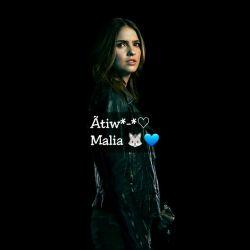 I'm Malia Hale *.*✋