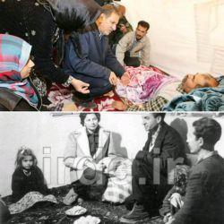 ژن و تفکر پهلوی در خون مسئولان دولتی! حضور با کفش در منزل مردم