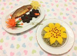 سبزی پلو کوکو ماهی