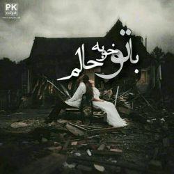 وقتی از پشت تلفن  با صدای خواب آلود ات شب بخیر میگویی من که هیچ کلاغ های لم داده  روی دکل مخابرات هم به خواب میروند!  #علی_سلطانی