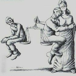 مردمانی که در برابر بیعدالتی و ظلم متحد نمیشوند روزی میرسد که یکدیگر را در زندان های ظالم ملاقات میکنند  ...!!  #برتولت_برشت