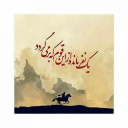 مدعی گوید که با یک گل نمیگردد بهار من گلی دارم که دنیا را گلستان میکند اللهم عجل لولیک الفرج