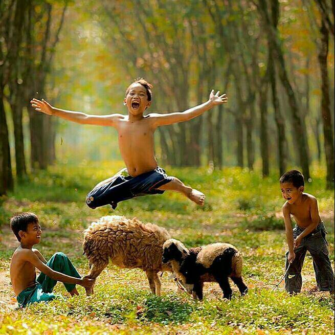 هوس سرک کشیدن به دنیای کودکی ام را دارم ... قهرهای الکی ... دوستیهای واقعی مشکلات کوچک و قلبی بزرگ ....