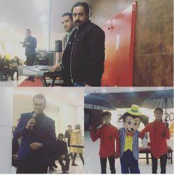 جشن مرکز خرید پاژ شب اول همراه با میلاد عزیز و هنرمند تقلید صدا جناب غلامی بزرگوار