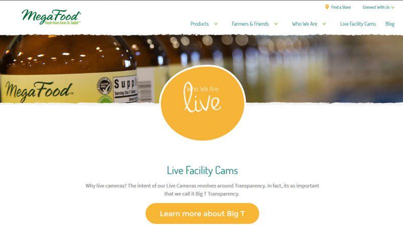 شفافیت در صنایع غذایی