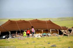 Black Tent nomad in the #Maku_Free_Zone