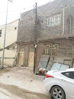 وضعیت نامناسب سیم ها در عراق شهر نجف ایام #اربعین۹۶