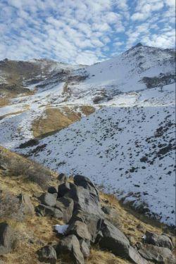 نمایی از  این روزهای کوهای باباپیر