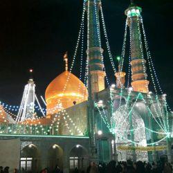 حرم حضرت معصومه آذر ۹۶اردوی دانشجویی