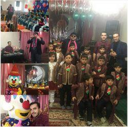 جشن یلدا امروز صبح مجری میلاد راخین مربی موسیقی بنیامین طیب طنز پرداز سعید مرادی