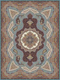 نقشه 1201 - فرش ۱۲۰۰ شانه یکی از جدیدترین فرش های ماشینی تولید شده در فرش نگین مشهد  که ما برای شما در سایت فرش ها قرار داده ایم  این فرش با تراکم ۳۶۰۰ با تعداد 8 رنگ در ایران تولید می شود. همین ظرافت و لطافت و زیبایی  آن را شبیه به فرش دستبافت نموده  است. و بدین جهت بسیاری از خانواده ها تمایل به خرید فرش از نوع ۱۲۰۰ شانه دارند سایت اینترنتی فرش ها کلکسیونی از بهترین فرش های 1200 شانه تولید کنندگان مطرح فرش ماشینی را جهت انتخاب شما مشتریان عزیر، گردآوری نموده است.www.farshha.com
