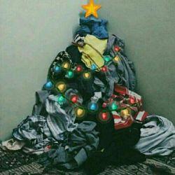 هر پسری یه دونه  درخت کریسمس توی اتاقش داره  خخخخ