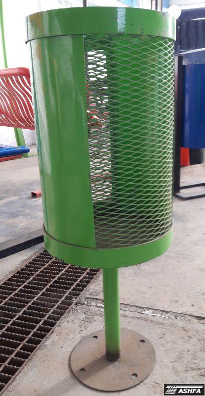سطل زباله بارنگ کوره ای