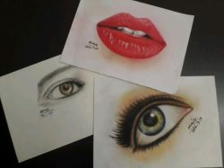 نمونه کارهای ابتدایی برای شروع نقاشی چهره