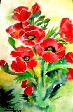 نقاشی ابرنگ لاله های وحشی برای خرید به ایدی زیر مراجعه کنید nghashazo9999