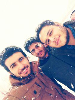 پیچوندن کلاس انگل دکتر خلیلی و لذت بردن از برف !