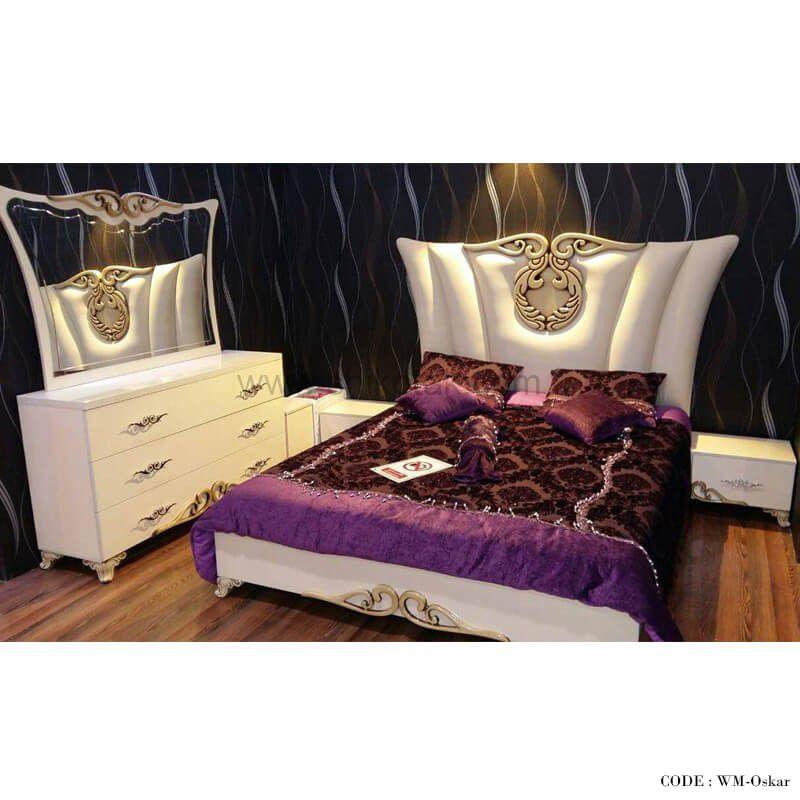 خرید اینترنتی سرویس خواب http://yon.ir/htFkH #سرویس_خواب_عروس سرویس خواب دونفره طرح اسکار تختخواب چوبی دو نفره در سایز 160 مناسب برای اتاق خواب تختخواب ام دی اف هایگلاس سرویس خواب شامل تخت- 2 عدد پاتختی- میز آرایش رنگ نباتی هماهنگ با رنگ چرم کرم مطابق تصویر رنگ سفید هماهنگ با رنگ چرم سفید مطابق تصویر