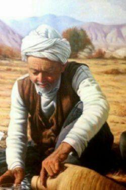 کشاورزی مشغول پاشیدن بذر بود، ثروتمند مغروری به او رسید و با تکبر گفت: بکار، که از تو کاشتن است و از ما خوردن ! کشاورز نگاه معناداری به او انداخت و گفت : دارم یونجه میکارم ...!