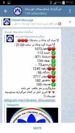این هم اوضاع هوای شهرهای خوزستان