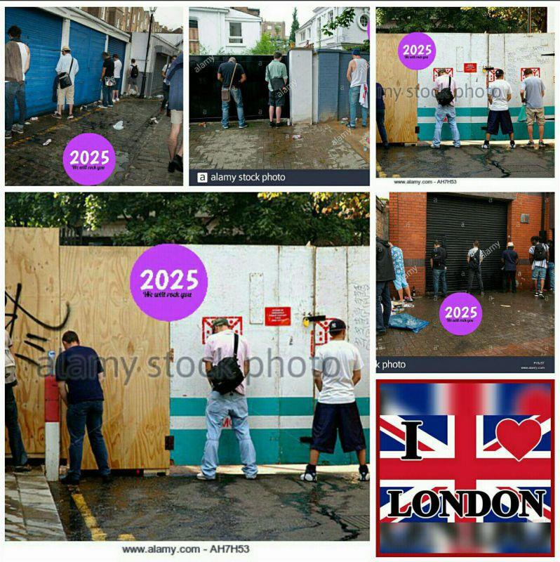 خیابان های مختلف #لندن پر است از فرهنگ رشد نیافته انگلیسی  لندن= ۵۰ سال قبل لاله زار تهران