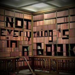 واقعا هیچ چیزی جای یک کتاب خوب را نمی گیردوهمه چیزهای خوب را نمی شود دریک کتاب خوب یافت ....خودم هم نفهمیدم که چه گفتم ولی فکر مبکنم آخرش به یک کتابخانه خوب ختم میشود ! کتاباتون همیشه باز  :)