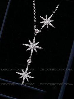 گردنبند ستاره کشیده قیمت 90000 تومان www.Decoricor.com  Telegram.me/Decoricor_com  براى سفارش میتوانید به 09194489197 تلگرام مسیج بدهید یا تماس بگیرید و یا از سایت ما خرید آنلاین كنید.
