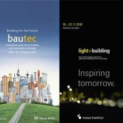 دو نمایشگاه ساختمانی با رویکرد پایداری در آلمان: Bautec و Light+ Building هر ساله در کشور آلمان نمایشگاه های مختلفی مرتبط با صنعت ساختمان برگزار می شود که از میان این نمایشگاه ها دو نمایشگاه ساختمان برلین و نور- ساختمان فرانکفورت از محبوبیت بسیاری برخوردار هستند که هر دو سال یکبار و در فصل زمستان برگزار می شوند. که در اینجا به اختصار به معرفی آنها می پردازیم: