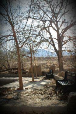 کوچه باغ زمستانی نراق بعکاس:بهارمحبیان