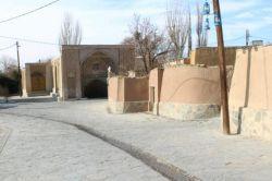 کوچه های تاریخی نراق عکاس بهارمحبیان