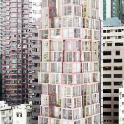 اثرات اجتماع در معماری _ برجهایی در میان برجی دیگر این پروژه برجهایی را آنالیز می کند که به طور معمول در یک آرایش افقی قرار گرفته اند و به طور عمودی روی یکدیگر قرار می گیرند.