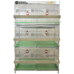 قفس مرغ و خروس زینتی طرح جدید/ جنس: تمام گالوانیزه ضد زنگ/ ظرفیت: بسته به نژاد / طول: 125 cm / عرض: 82 cm / ارتفاع: 200 cm