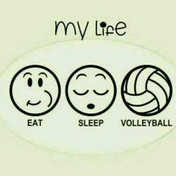 my love volleyball