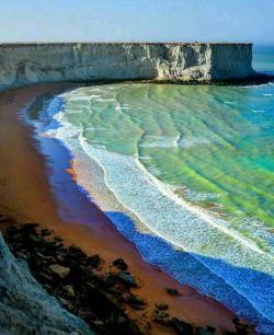 ساحل بکر و زیبای چابهار در استان سیستان و بلوچستان