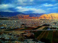 #داراب #زیبا از بالای کوه پهنا