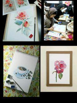 روز من با پیاما و عکسایه تمرین و نقاشیایه دوستان گلم و ناز دخترایه هنرمندم شروع میشه..
