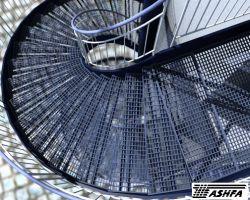 کف پله فلزی