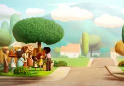 انیمیشن کوتاه یک داستان عاشقانه  www.filimo.com/m/r13b7