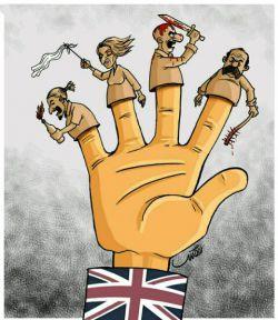 بازیگران #انگلیس در هر لباس و جایگاهی کہ باشند یک هدف دارند و آن هم مقابله با نظام  و انقلاب اسلامی است. *چه آنها که خوارج اند و چہ آنها که از ابتدا از خط خارجاند. #داعش #درویش #کشف_حجاب #اغتشاشات http://sapp.ir/nasimemarefat