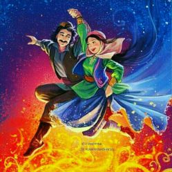 ایرانیان شب سرد را به آتش می کشند به امید زندگی گرم و نیک..زندگیتان مانند آتش اهورا گرمه گرم..جشن باستانی 4شنبه سوری مبارک باد **