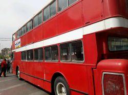 امروز  . هوای خوب . فلکه اول اریا شهر این اتوبوسایه انگلیسی خوشگل و نوازنده های که اونحا اهنگ میزدن.❤❤