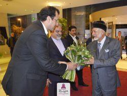 وزیر خارجه عمان در هتل پارسیان آزادی اقامت گزید، اسفند 96