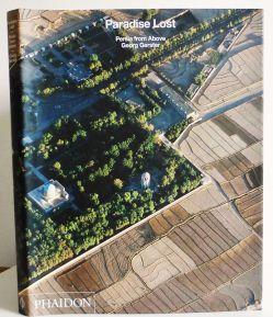 """خراسان غربی / نمای هوایی از آرامگاه خیام و امامزاده محروق نیشابور، بر روی جلد کتاب """"Paradise Lost, Persia from Above"""" (بهشت گمشده، ایران از بالا)؛ این کتاب که مجموعه آثار عکسهای هوایی Georg Gerster است در سال ۲۰۰۸م توسط انتشارات Phaidon در لندن منتشر شده است"""