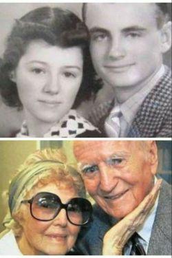 لس و هلن هردو دریک روز بدنیا آمدن و 75 سال زندگی مشترک داشتن و هردو در سن 94 سالگی در یک روز از دنیا رفتن. #عشق