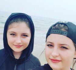 سارا و نیكا سریال پایتخت در قبرس (فرزندان نقی معمولی داور بین الملی فیفا)