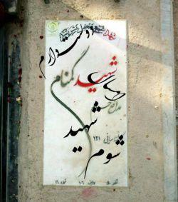 دوست دارم امسال جانم را فدای ایرانم و رهبر عزیزم بدهم...