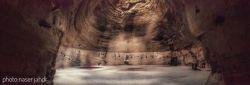 غار و معبد قدمگاه 5000 تا 12000 ساله آذرشهر