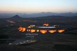 تخت سلیمان تیکان تپه یا تکاب آذربایجان غربی