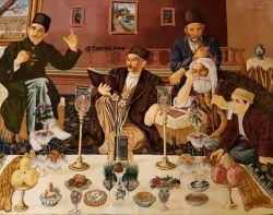 نقاشی تحویل سال ، نوروز آذربایجان