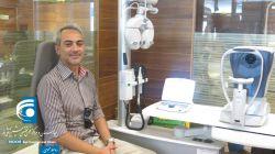 حضور سه تن از عوامل سریال دیوار به دیوار در کلینیک بیمارستان چشمپزشکی نور